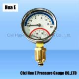 63mm Multifunctioneel van Meter voor Temperatuur en Druk