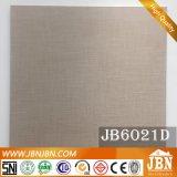 Tuile de toile glacée rustique du modèle 600X600mm de fini de porcelaine (JB6021D)