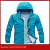 Concevoir les jupes en fonction du client de Windbreaker d'hommes de sport de mode (J107)