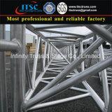 600X760mm Aluminium-Quadrat-Binder mit Zapfen-Anschluss