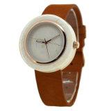 Reloj de encargo unisex del mármol de la insignia del cuarzo clásico simple superior de la marca de fábrica 2018