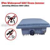 À prova de segurança Drone Uav Jammer antena incorporada