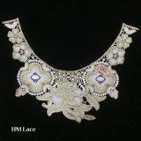 32*26cmの金胸当て文のネックレス、弓ネックレス、白い石、金のボヘミア人、大きいネックレス、大きいネックレスHme921