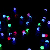 [50بكس] فقاعات كرة يزوّد [لد] عيد ميلاد المسيح خيط ضوء زاويّة مسيكة مصباح لأنّ عطلة مهرجان حزب عرس حديقة زخرفة
