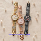 Quarz-Uhr-Form-Armbanduhr der kundenspezifischen Firmenzeichen-Männer für Mann (WY-17004C)