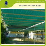 緑80%のHDPEの日曜日の陰のネットの庭の陰の帆網の製造業者