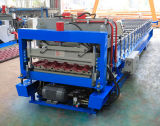 PLC Broodje die van de Tegel van de Kleur van de Controle het Staal Verglaasde Machine vormen