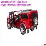 Carros licenciados do miúdo do veículo eléctrico de land rover mini