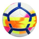 La calidad del emparejamiento modifica la bola de cuero de la PU para requisitos particulares Futsal de la insignia