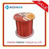 Nylon Monofilament van de Rode Kleur van de Partner van de hengel Vislijn