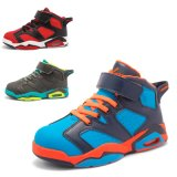 Deporte superior unisex del aire del baloncesto de la manera china del surtidor el alto calza los zapatos de baloncesto del cabrito