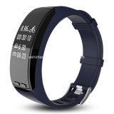 Caloria dell'inseguitore di attività del Wristband del pedometro del video di sonno di frequenza cardiaca che brucia braccialetto astuto