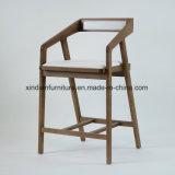 Présidence en bois nordique de bâti en acier fixe de fer