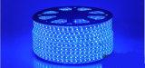 Buena calidad de la sola de la base 5050 tira flexible del azul LED para la iluminación de la pared de la barra