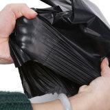 Gris de alta calidad material de reciclaje de bolsas de polipropileno postal personalizada