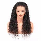 Vague profonde vierge brésilien Cheveux humains Lace Front perruques