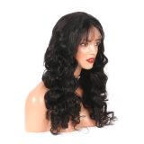 Способа черного тела Dlme парик волос естественного волнистого синтетический