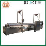 Los anillos de calamar empanizado freidora transportador de la máquina y la fabricación de máquina de fritura