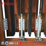 중국 공급자 이중 유리를 끼우는 알루미늄 유리제 접게된 문