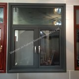 Armazón de aluminio doble acristalamiento de Casement Windows