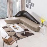 L'unità di elaborazione digita la disposizione dei posti a sedere pubblica curva del sofà di svago con la L disegno di figura
