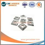 CNCのIndexable回転製粉の通る炭化物の挿入