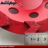 M14 테라조 구체적인 가는 컵 바퀴를 가진 7inch 화살 세그먼트