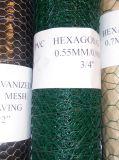 Oxidation-Widerstehender Kurbelgehäuse-Belüftung-Überzogener sechseckiger Maschendraht verwendet für Zaun