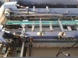 Caja de regalo automático de control servo de tapa dura que hace la máquina