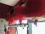 Extintor al por mayor 20-40L de China que cuelga el sistema de supresión de fuego de FM200/Hfc227ea
