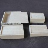 Contenitore di legno di pacchetto dei monili del più nuovo regalo su ordinazione di prestazione di alta qualità 2017