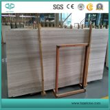 La madera de color blanco/gris/Luz Serpeggiant madera mosaico de mármol/ Sab/Vanidad Top/Mosaico
