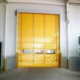 PVC 빠른 산업 각자 복구 고속 차고 롤러 셔터 문