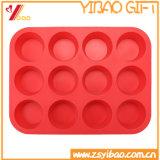 Grau alimentício Twelves células redondas de Molde de chocolate de Silicone (XY-ST-024)