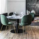 (SC-706) Restaurante que janta a base da mesa redonda do metal do pé da mobília