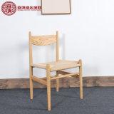 Cadeira moderna da sala de jantar do café da mobília do restaurante da casa de campo com braço
