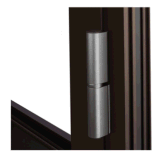 新しいデザインWindowsおよびドアによって二重ガラスをはめられるアルミニウムドア