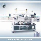 長方形の正方形の瓶および油壷のための自動二重側面のステッカーの分類機械