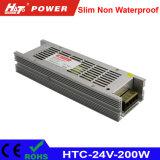 24V 8A 200W LED-Bildschirmanzeige-ultradünne Schaltungs-Stromversorgung