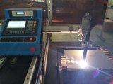 máquina de estaca portátil do plasma do CNC da trilha de aço para o aço inoxidável de alumínio