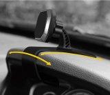 Hudデザイン調節可能なダッシュボードのSamsungのiPhone GPSのための磁気電話台紙