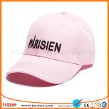 La promotion chaude de marque de vente et annoncent la casquette de baseball de flammes de broderie