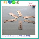 Изготовленный на заказ название фирмы Plates Персонализированный Nameplate металла