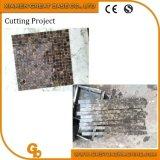 Tagliatrice di pietra di marmo a coltelli multipli delle mattonelle di mosaico di Granie