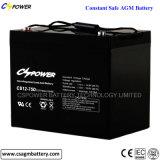 75 de 12 VCC Ah batería AGM de ciclo profundo