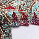 2018 telas de matéria têxtil tecidas do Chenille do jacquard do teste padrão
