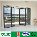 Aluminiumflügelfenster-Tür und Fenster