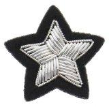 Handindien-Edemetallbarren-Draht-Stickerei-Abzeichen für Brosche
