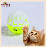 Il gatto di plastica dei giocattoli dell'animale domestico gioca i giocattoli di puzzle del gatto della sfera (KB3059)
