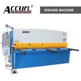 Торговая марка Accurl гидравлический металлические деформации машины QC12y-6X6000 E21 для резки листа Meta пластину